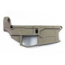 JMT (James Madison Tactical) AR 15 80% Polymer GEN2 Lower Receiver with FREE machining jig - Flat Dark Earth (FDE)