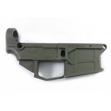 JMT (James Madison Tactical) AR 15 80% Polymer GEN2 Lower Receiver with FREE machining jig - OD Green (ODG)